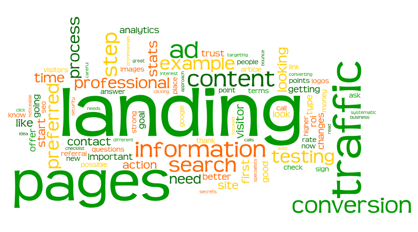Why having a relevant website landing page is essential